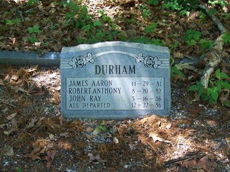 DURHAM, JAMES AARON - Fulton County, Georgia | JAMES AARON DURHAM - Georgia Gravestone Photos