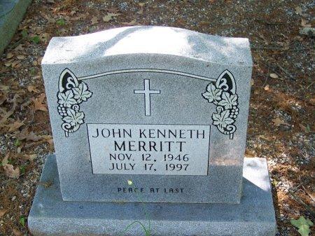 MERRITT, JOHN KENNETH - Fulton County, Georgia | JOHN KENNETH MERRITT - Georgia Gravestone Photos