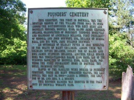 *FOUNDERS, SIGN - Fulton County, Georgia | SIGN *FOUNDERS - Georgia Gravestone Photos