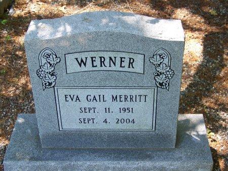 MERRITT WERNER, EVA GAIL - Fulton County, Georgia   EVA GAIL MERRITT WERNER - Georgia Gravestone Photos
