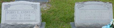 ANDREWS, BOBBY E - Grady County, Georgia | BOBBY E ANDREWS - Georgia Gravestone Photos