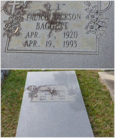 "BAGGETT, ENUICH JACKSON ""E.J."" - Grady County, Georgia | ENUICH JACKSON ""E.J."" BAGGETT - Georgia Gravestone Photos"