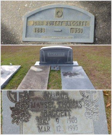"THOMAS BAGGETT, MAYSEL ILENE ""MAMIE"" - Grady County, Georgia | MAYSEL ILENE ""MAMIE"" THOMAS BAGGETT - Georgia Gravestone Photos"