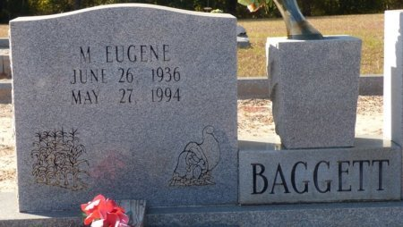 BAGGETT, M EUGENE - Grady County, Georgia | M EUGENE BAGGETT - Georgia Gravestone Photos