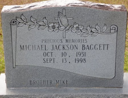 "BAGGETT, MICHAEL JACKSON ""JACK"" - Grady County, Georgia   MICHAEL JACKSON ""JACK"" BAGGETT - Georgia Gravestone Photos"