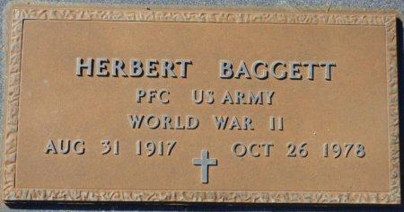 BAGGETT (VETERAN WWII), HERBERT (NEW) - Grady County, Georgia | HERBERT (NEW) BAGGETT (VETERAN WWII) - Georgia Gravestone Photos