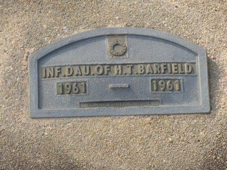 BARFIELD, INFANT DAUGHER - Grady County, Georgia | INFANT DAUGHER BARFIELD - Georgia Gravestone Photos