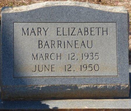 BARRINEAU, MARY ELIZABETH - Grady County, Georgia   MARY ELIZABETH BARRINEAU - Georgia Gravestone Photos