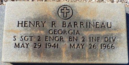 BARRINEAU (VETERAN), HENRY R (NEW) - Grady County, Georgia | HENRY R (NEW) BARRINEAU (VETERAN) - Georgia Gravestone Photos