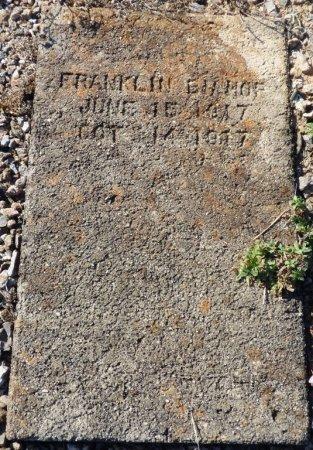 BISHOP, FRANKLIN - Grady County, Georgia | FRANKLIN BISHOP - Georgia Gravestone Photos
