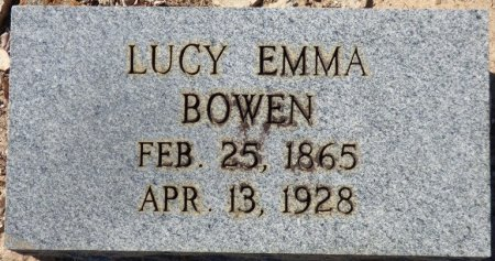 BOWEN, LUCY EMMA - Grady County, Georgia | LUCY EMMA BOWEN - Georgia Gravestone Photos