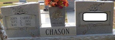 CHASON, JOHN CARROLL - Grady County, Georgia | JOHN CARROLL CHASON - Georgia Gravestone Photos
