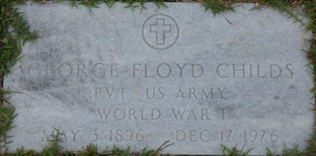 CHILDS, SR (VETERAN WWI), GEORGE FLOYD (NEW) - Grady County, Georgia | GEORGE FLOYD (NEW) CHILDS, SR (VETERAN WWI) - Georgia Gravestone Photos