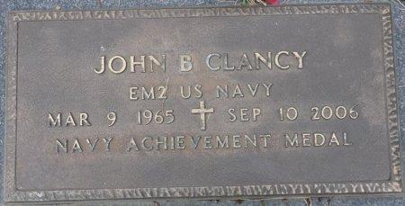 CLANCY (VETERAN), JOHN BLAIR (NEW) - Grady County, Georgia   JOHN BLAIR (NEW) CLANCY (VETERAN) - Georgia Gravestone Photos