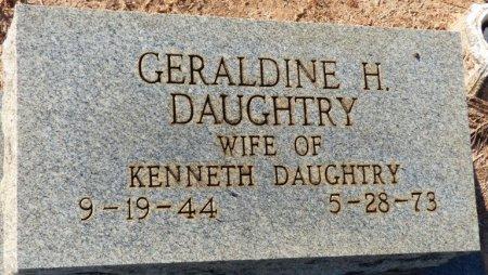 DAUGHTRY, GERALDINE - Grady County, Georgia | GERALDINE DAUGHTRY - Georgia Gravestone Photos
