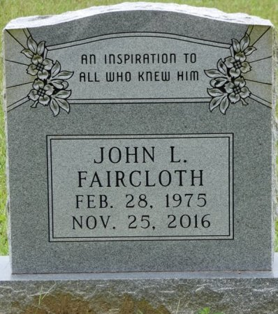 FAIRCLOTH, JOHN L - Grady County, Georgia | JOHN L FAIRCLOTH - Georgia Gravestone Photos