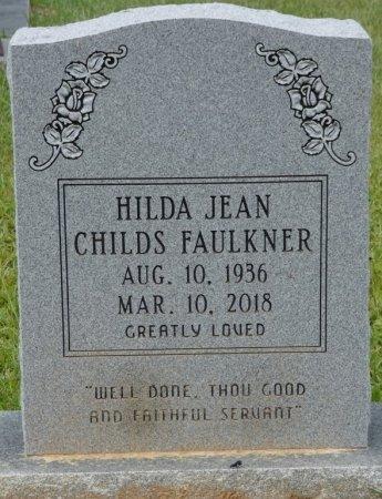 CHILDS FAULKNER, HILDA JEAN - Grady County, Georgia | HILDA JEAN CHILDS FAULKNER - Georgia Gravestone Photos