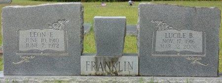 FRANKLIN, LUCILLE B - Grady County, Georgia   LUCILLE B FRANKLIN - Georgia Gravestone Photos