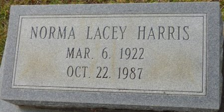 HARRIS, NORMA - Grady County, Georgia | NORMA HARRIS - Georgia Gravestone Photos