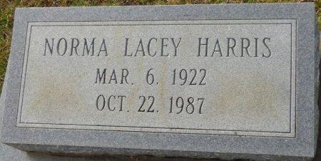 LACEY HARRIS, NORMA - Grady County, Georgia | NORMA LACEY HARRIS - Georgia Gravestone Photos