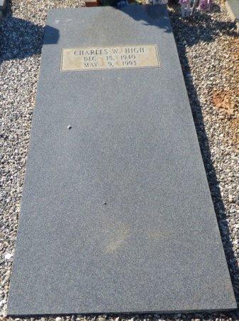 HIGH, CHARLES W - Grady County, Georgia | CHARLES W HIGH - Georgia Gravestone Photos