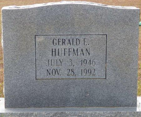 HUFFMAN, GERALD E - Grady County, Georgia | GERALD E HUFFMAN - Georgia Gravestone Photos