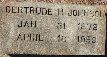JOHNSON, GERTRUDE H - Grady County, Georgia | GERTRUDE H JOHNSON - Georgia Gravestone Photos