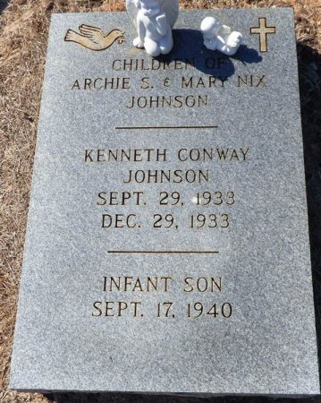 JOHNSON, KENNETH CONWAY - Grady County, Georgia | KENNETH CONWAY JOHNSON - Georgia Gravestone Photos