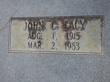 LACY, JOHN C - Grady County, Georgia | JOHN C LACY - Georgia Gravestone Photos