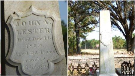 LESTER, JOHN V - Grady County, Georgia | JOHN V LESTER - Georgia Gravestone Photos