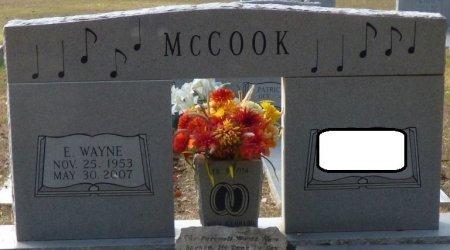 MCCOOK, EDDIE WAYNE - Grady County, Georgia | EDDIE WAYNE MCCOOK - Georgia Gravestone Photos