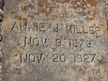 MILLER, ANNIE J - Grady County, Georgia | ANNIE J MILLER - Georgia Gravestone Photos