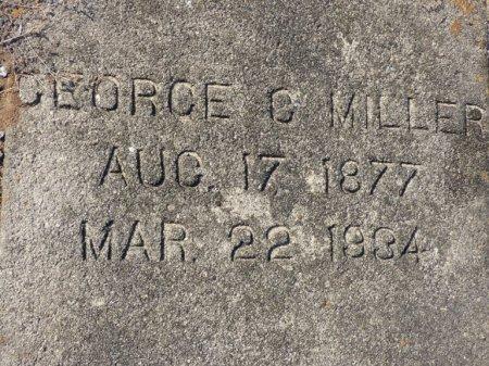 MILLER, GEORGE G - Grady County, Georgia | GEORGE G MILLER - Georgia Gravestone Photos
