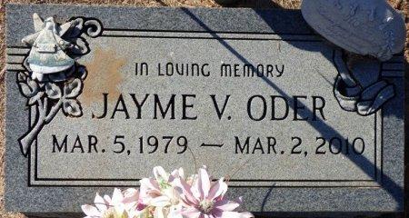 ODER, JAYME V - Grady County, Georgia | JAYME V ODER - Georgia Gravestone Photos