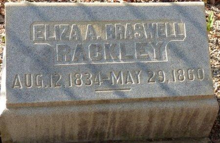 RACKLEY, ELIZA A  - Grady County, Georgia | ELIZA A  RACKLEY - Georgia Gravestone Photos