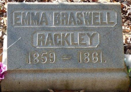 RACKLEY, EMMA BRASWELL - Grady County, Georgia   EMMA BRASWELL RACKLEY - Georgia Gravestone Photos