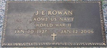 ROWAN (VETERAN WWII), J.E. (NEW) - Grady County, Georgia | J.E. (NEW) ROWAN (VETERAN WWII) - Georgia Gravestone Photos