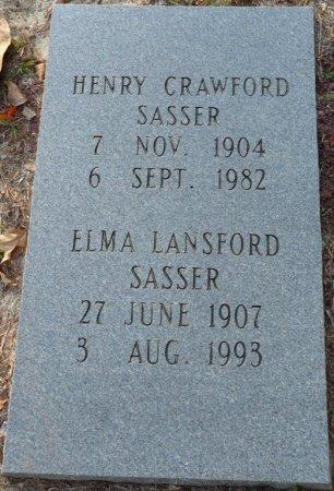 SASSER, HENRY CRAWFORD - Grady County, Georgia   HENRY CRAWFORD SASSER - Georgia Gravestone Photos