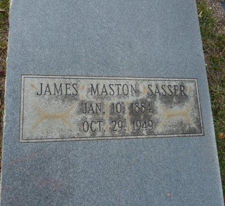 SASSER, JAMES MASTON - Grady County, Georgia | JAMES MASTON SASSER - Georgia Gravestone Photos