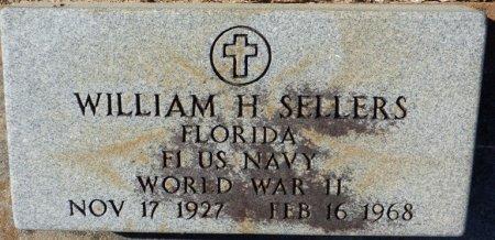SELLERS (VETERAN WWII), WILLIAM H (NEW) - Grady County, Georgia | WILLIAM H (NEW) SELLERS (VETERAN WWII) - Georgia Gravestone Photos