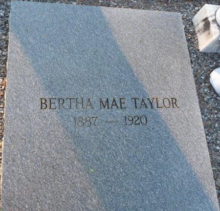 TAYLOR, BERTHA MAE - Grady County, Georgia   BERTHA MAE TAYLOR - Georgia Gravestone Photos