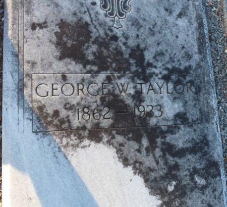 TAYLOR, GEORGE W - Grady County, Georgia   GEORGE W TAYLOR - Georgia Gravestone Photos