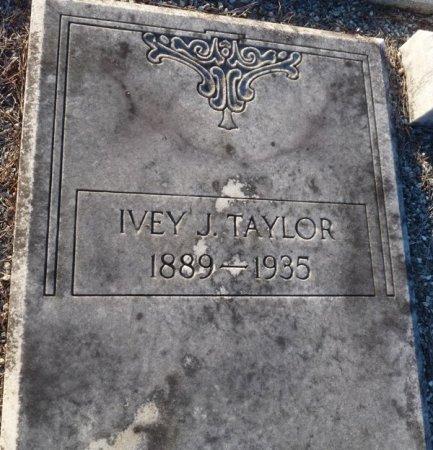 TAYLOR, IVEY J - Grady County, Georgia | IVEY J TAYLOR - Georgia Gravestone Photos
