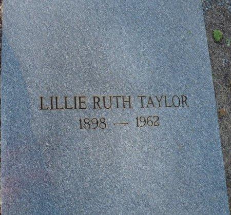 TAYLOR, LILLIE RUTH - Grady County, Georgia | LILLIE RUTH TAYLOR - Georgia Gravestone Photos