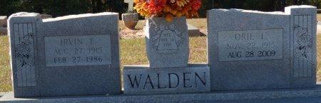 WALDEN, IRVIN ELMER - Grady County, Georgia | IRVIN ELMER WALDEN - Georgia Gravestone Photos