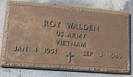 WALDEN (VETERAN VIET), ROY (NEW) - Grady County, Georgia   ROY (NEW) WALDEN (VETERAN VIET) - Georgia Gravestone Photos