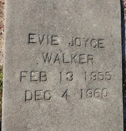 WALKER, EVIE JOYCE - Grady County, Georgia | EVIE JOYCE WALKER - Georgia Gravestone Photos
