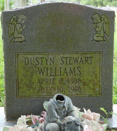 WILLIAMS, DUSTYN STEWART - Grady County, Georgia | DUSTYN STEWART WILLIAMS - Georgia Gravestone Photos