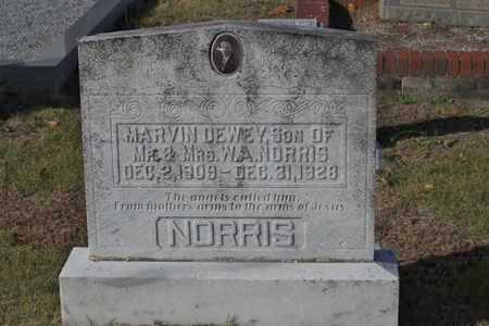 NORRIS, MARVIN DEWEY - Heard County, Georgia | MARVIN DEWEY NORRIS - Georgia Gravestone Photos