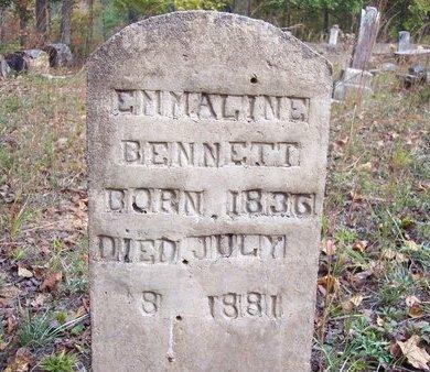 BENNETT, EMMALINE - Heard County, Georgia | EMMALINE BENNETT - Georgia Gravestone Photos